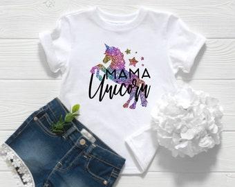 Womens Shirt   Mama Unicorn Shirt   Magical Mama   Mom Life Shirt   Unicorn Mom Shirt   Gifts for Mom   Mama Unicorn   Unicorn Mama