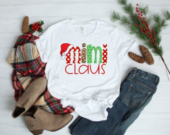Christmas Shirt for Women | Women's Christmas Shirt | Mimi Claus Shirt | Christmas Mimi Shirts | Mimi Christmas Shirt | Grandma Christmas