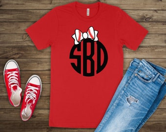 Baseball shirts | Baseball Monogram Shirt | Baseball Shirts for Girls | Game Day Shirt | Baseball Sister | Baseball Monogram Shirt |