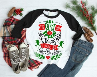 Women's Christmas Shirt | Kids Christmas Shirt | Best Way to Spread Christmas Cheer is Singing Loud for all to Hear | Elf Christmas Shirt