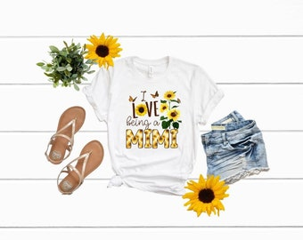 Mimi Shirt | i Love Being a Mimi Shirt | Sunflower Mimi Shirt | Mimi Life Shirt | Blessed Mimi Shirt | Mothers Day Shirt | Gifts for Mimi