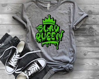 Womens Halloween Shirt| Girls Halloween Shirt | Slay Queen Shirt | Halloween Shirts for Women | Halloween Shirts for Girls | Horror Fan Shir
