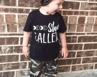 Kids Tshirt | Shot Caller | Baby Shirt | Toddler Shirt | Graphic Tee | Kids Funny Shirt | Kids Shirt