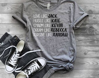 This is Us Shirt | Squad Goals Shirt | Womens Shirt | This is Us Squad | Big Three Shirt | Gifts for Her | Jack and Rebecca Shirt |