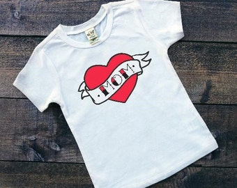 Kids Valentine Shirt | Valentine Shirt for Kids |  Mom Tattoo Shirt | Funny Valentines Shirt | Mom is my Valentine | Boys Valentine Shirts