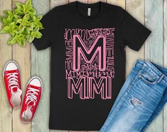 Mothers Day Gift | Mimi Definition Shirt  | Mimi Shirt | Gifts for Mom | Mimi Typography Shirt | Nana Shirt | Grandma Shirt | Gifts for Gran