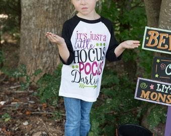 Girls Halloween Outfit | Girls Halloween Shirt | Hocus Pocus |Hocus Pocus Shirt | Halloween Shirt for Girls | Baby Girl Fall Outfit
