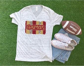 Chargers Shirt, School Spirit Shirt, Keller central  Shirt,