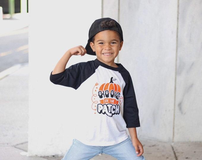 Featured listing image: Boys Fall Shirt | Pumpkin Patch Shirt | Boys Halloween Shirt | King of the Patch | Fall Shirts for Boys | Halloween Shirt for Boys | Pumpkin