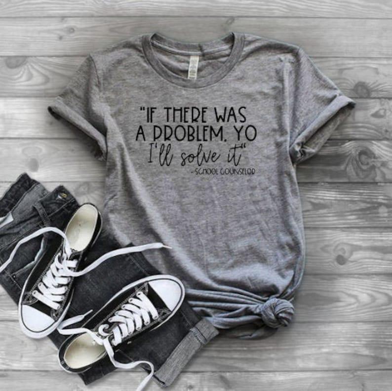 School Counselor Shirt  Shirt for Counselors  School image 0