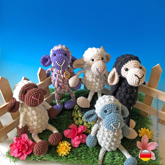 Amigurumi-Schaf Kilkenny: kuschlig und einfach zu häkeln 🐑   570x570
