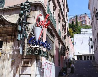 Lisbon Cafe, Lisbon, Portugal