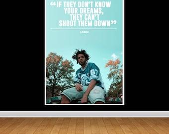J.Cole \'Lyric\' Print | Etsy