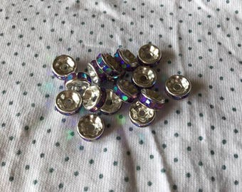 10 beads spacer 8mm