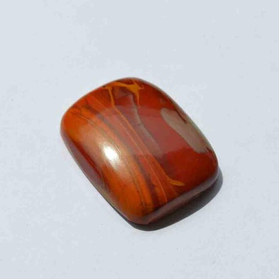 Oval Shape Mineral,Healing Crystal G23741 37 Carat Natural Banded Agate Gemstone Cabochon