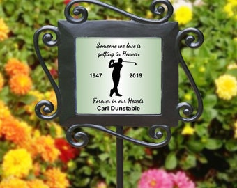 photo stake gift for loved ones memorial stake wedding in memory of funeral aluminum stake Plant stake bouquet stake personalized