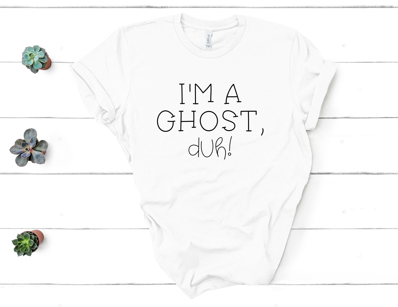 7c0a68c5 Fall Halloween Shirt Tee Fall I'm a Ghost Duh Unisex Shirt   Etsy