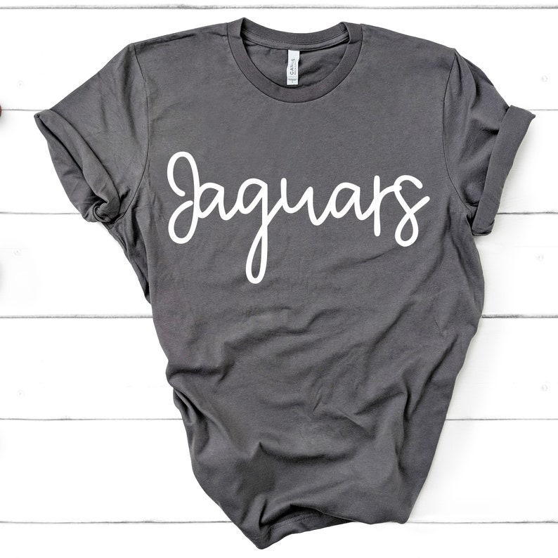 Team Spirit Shirt Jaguars Team Mom Wife Parent Gift Short-Sleeve Unisex TShirt Women Ladies Unisex Tee Football Baseball Soccer Basketball