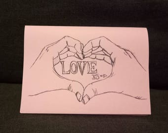 Love is - small zine