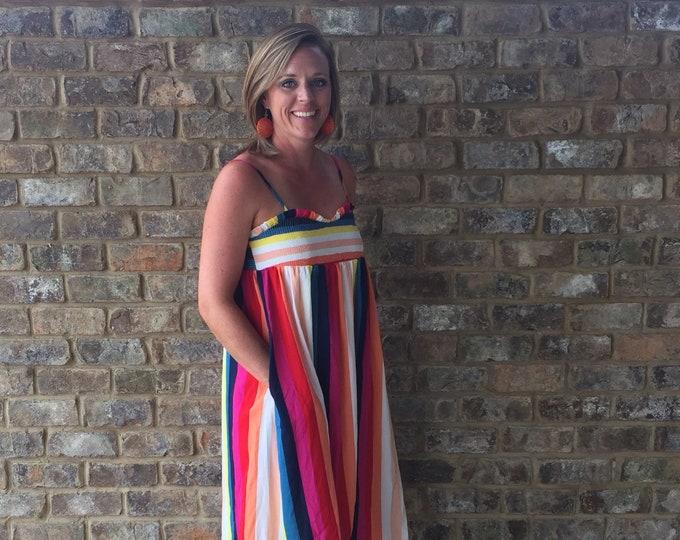 Striped Multi Color Dress