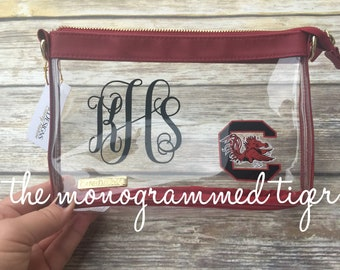 South Carolina Gamecock crossbody bag