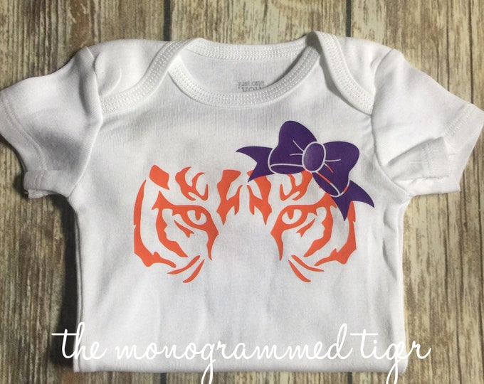 Tiger bodysuit, cute tiger tail