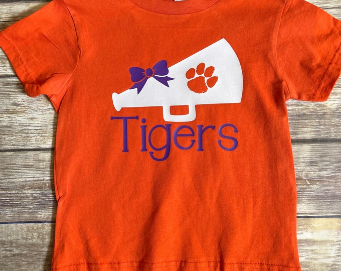 Clemson shirt, tiger girl, Clemson shirt, game day shirt, tiger shirt