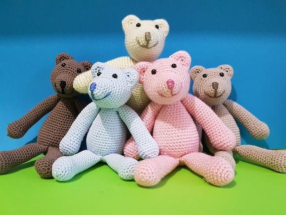 Teddy Bär Kuscheltier Häkeln Bär Baby Geschenk Etsy