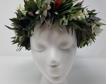 a162c74ce1 Tahitian Hei (Lei Headdress) for Dance Costume