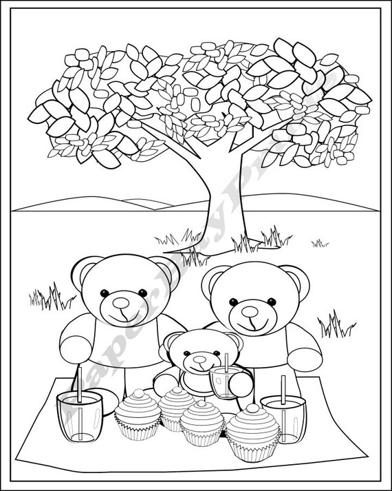 Teddy bear coloring pages free printable coloring pages | Teddy ... | 713x570