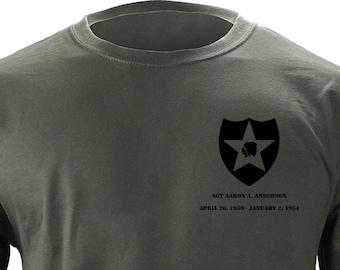 2nd infantry   Etsy