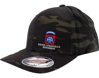 6f62bfde2a5 Army 82nd Airborne Division Full Color Flexfit Hat