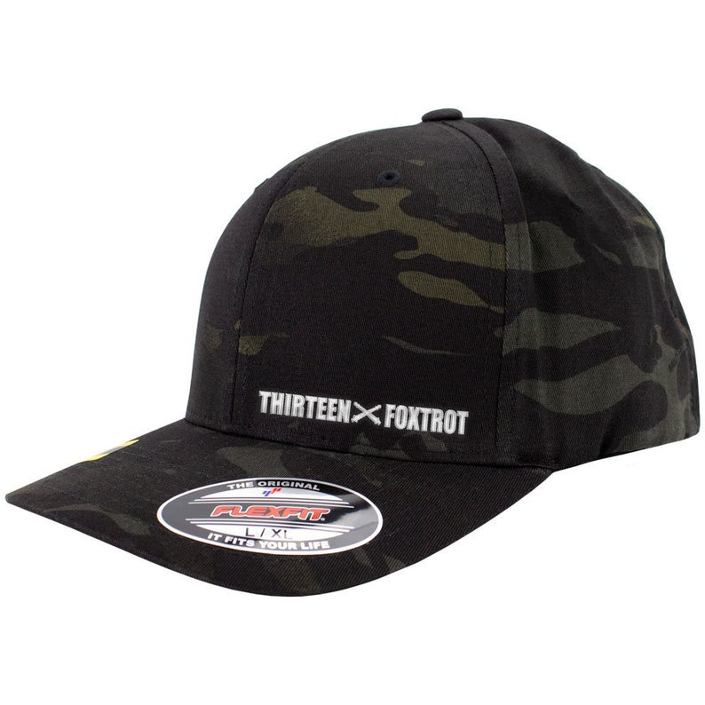 a0ff29dd6f7b4 MOS Thirteen Foxtrot 13F Multicam Flexfit Hat