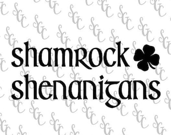 Reusable Stencil - Shamrock Shenanigans - Many Sizes to Choose from!