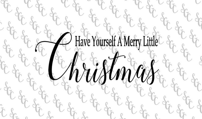 3d39253be Reusable Stencil Christmas Quote Many Sizes to Choose
