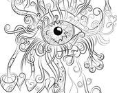 Mushroom Eye Instant Digi...