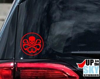 """Hydra Insignia Game Graphic Die Cut decal sticker Car Truck Boat Window 9/"""""""