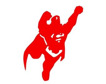 Nightwing Logo Vinyl Decal/Bumper Sticker DC Comics Dick ...