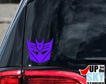Decepticon Vinyl Decal/Bumper Sticker | Transformers