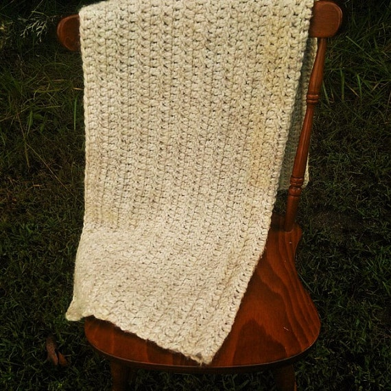 Thick and Soft Wool blend Throw/Blanket