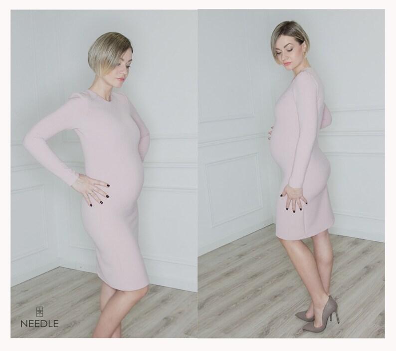 43ed7e24a5 Baby Shower Dress sukienka Ciąża sukienka ciążowa Suknie