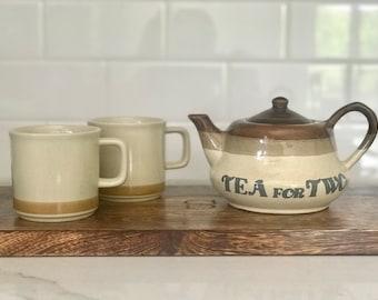 Vintage Tea For Two Set