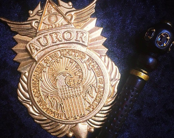 Custom MACUSA Auror Badge