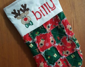 Christmas Sticking/Quilted/Personalized/Personalized