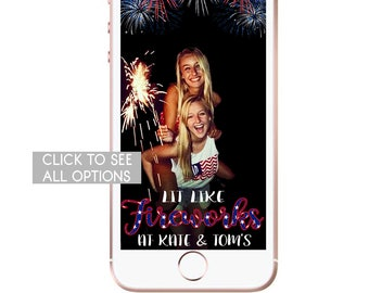 4th of July, Patriotic, America Snapchat Filter, American Flag Geofilter