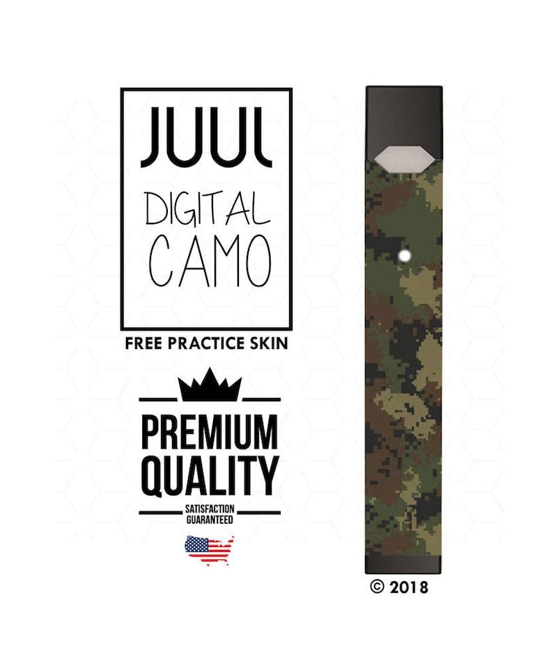 JUUL Skin Wrap | Digital Camo | JUUL Decal | Overlay Vape Sticker |  Vaporizer Skin V2