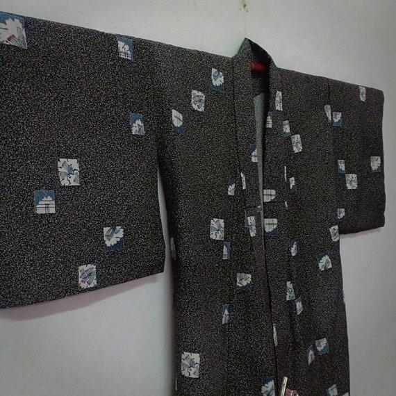 Vintage Japanese Kimono High Quality Houmongi/ Dre