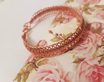 New intricate 100% pure copper bracelet.