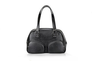 Black Leather Tote Bag for Women | Large ladies bag | Women's Handmade Leather Handbag | Women's Handbag | Black Leather Tote
