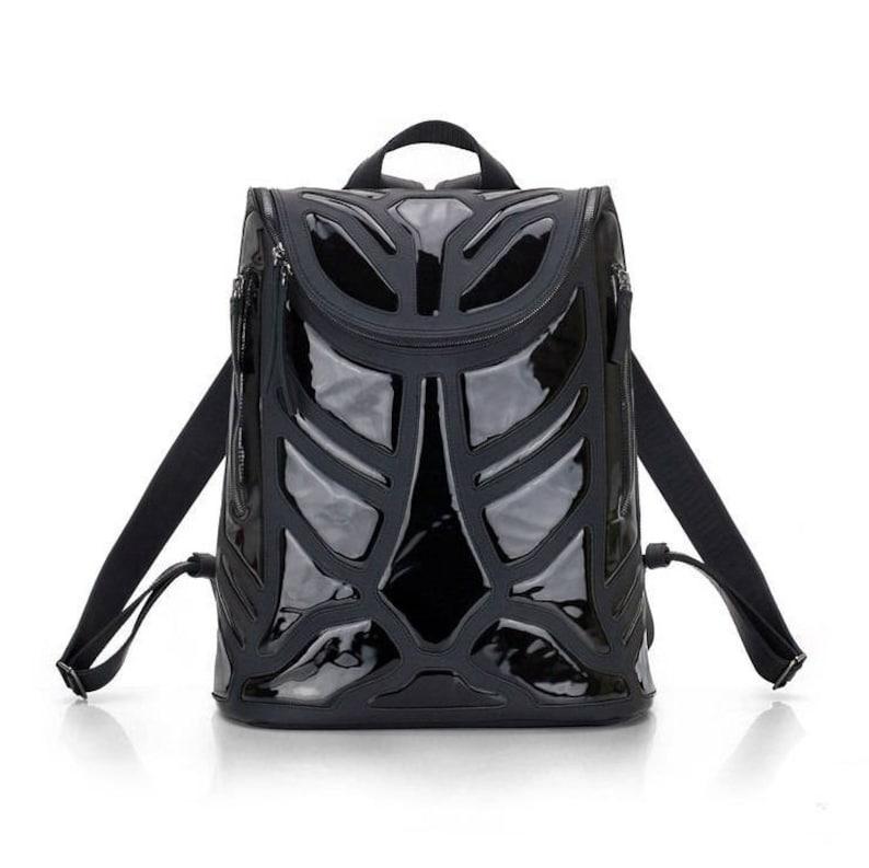 fcf0c2cac607a Plecak skórzany czarny/ręcznie robione skórzane plecaki/czarne | Etsy